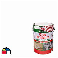 Óleo Brillante Sipaoleo 1 galón Blanco