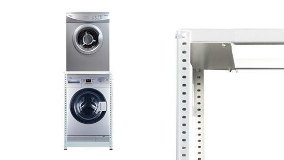 Estante lavadora