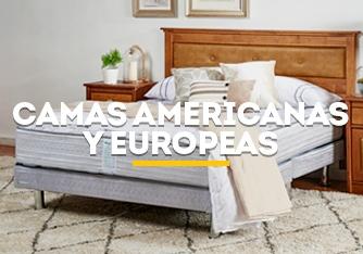 Camas americanas y europeas