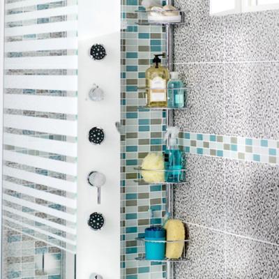 Organizadores de ducha y tinas for Duchas de bano homecenter