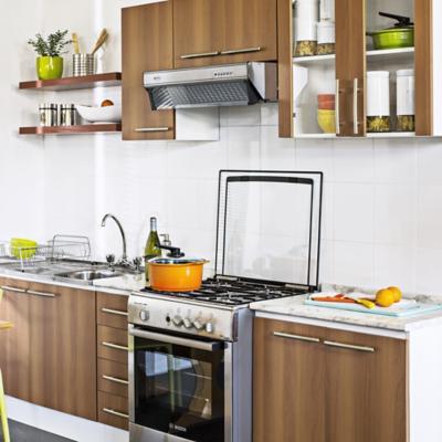 Muebles de cocina pequea finest with muebles de cocina for Cocinas amobladas