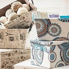 Cajas y Canastos decorativos