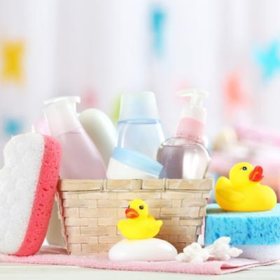 Decoración de baño infantil
