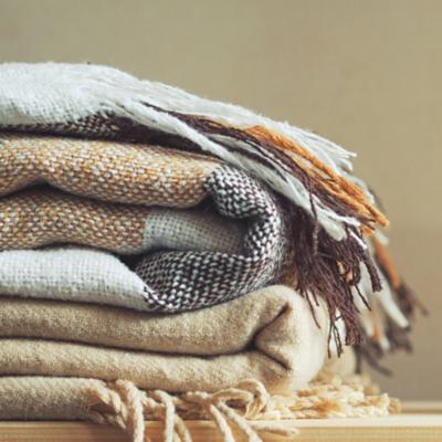Frazadas, mantas y pieceras