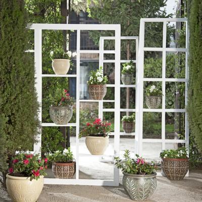 Jard n verticial for Casas decoradas con plantas naturales