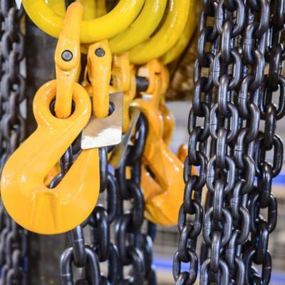 Poleas y cadenas de Eslabón
