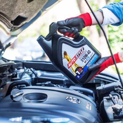 Aceites y lubricantes para autos