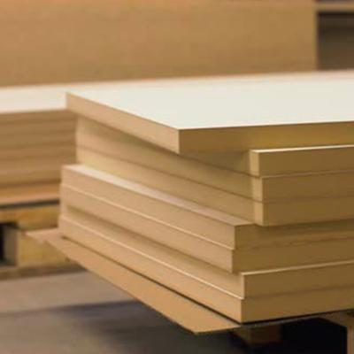 Hardboard y Durolac