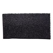 Felpudo Nomad 60 x 40 cm negro