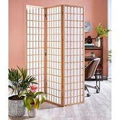 Biombo 3 paneles natural