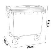 Contenedor de plástico 1100 L