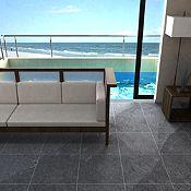 Piedra Pizarra 40x40 cm 0.96 m2