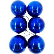 Esfera azul brillante 6cm x12
