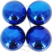 Esfera azul brillante 9cm x4