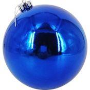 Esfera azul brillante 15cm