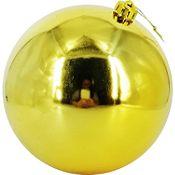 Esfera dorada brillante 15cm