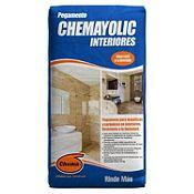 Pegamento en polvo Chemayolic gris 25 kilos