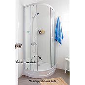 Cabina de ducha 80x80cm con receptáculo