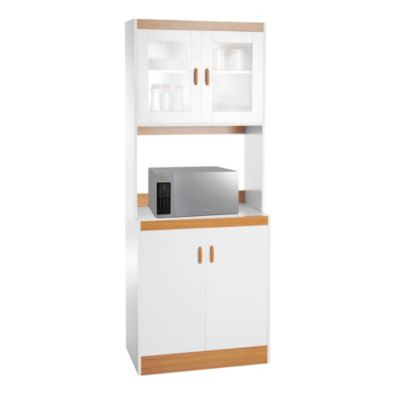 Mueble para microondas 73cm for Mueble cocina sodimac