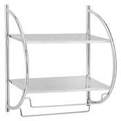 Organizador de baño y toallero