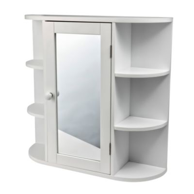 Botiqu n 1 puerta y 6 repisas for Severino muebles cocina alacena melamina blanca