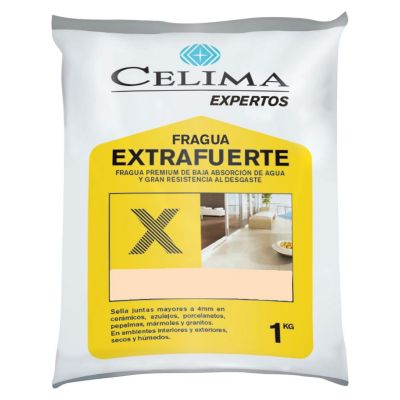 Fragua premium hueso 1 kilo Sodimac sanitarios precios