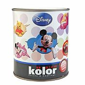 Látex Disney Blanco Satinado 1/4 gl