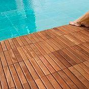 Baldosa de madera 30 x 30 cm