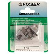 Abrazadera p/cable 1/4 2und 04ABC-K