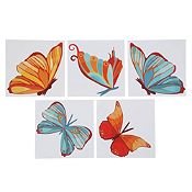 Mosaico multicolor autoadhesivo Mariposa