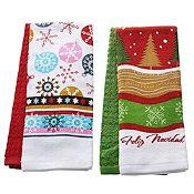 Set de 2 secadores diseños navideños
