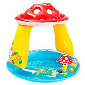(Regular S/69.9) Piscina inflable bebé con honguito