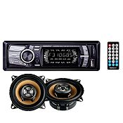 Radio y 2 parlantes USB/MP3