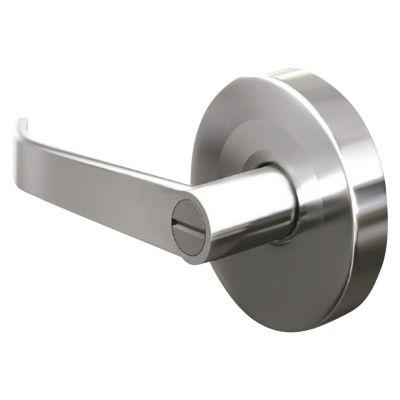 Cerradura manija semirecta ba o acero inoxidable sodimac for Manija de seguridad para bano