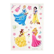 Deco sticker Princesas 35x50cm