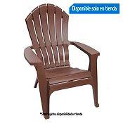 Silla ergonómica marrón