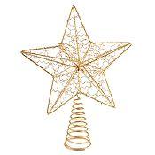 Tope de árbol estrella 25cm
