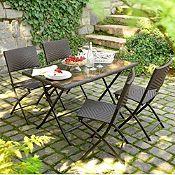 Juego de comedor Parma 4 sillas