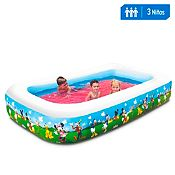 Piscina inflable Family Pool 262x175cm