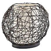 Lámpara de mesa Red Globe 1 luz
