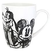 Mug barrel Mickey rought