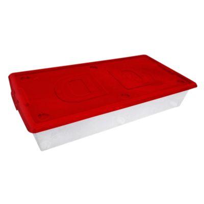 Caja organizadora bajo cama deluxe Sodimac sanitarios precios
