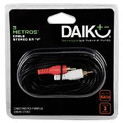 Cable RCA Stereo 3 m
