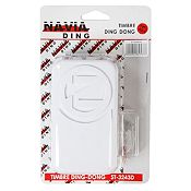 Timbre Ding Dong 2 Melodias ST-3243D Blanco