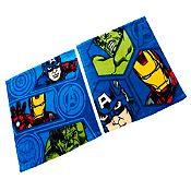 Set 2 toallas Avengers 30x30cm