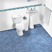 Listelo Samoa azul 7x35cm
