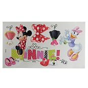 Deco sticker Minnie 35x50cm