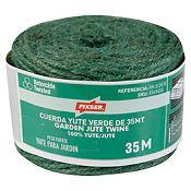 Cuerda yute verde de 35mt