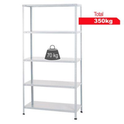 Estante metal 30x90x180cm 350 kg