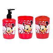 Set de baño Minnie x 3 piezas